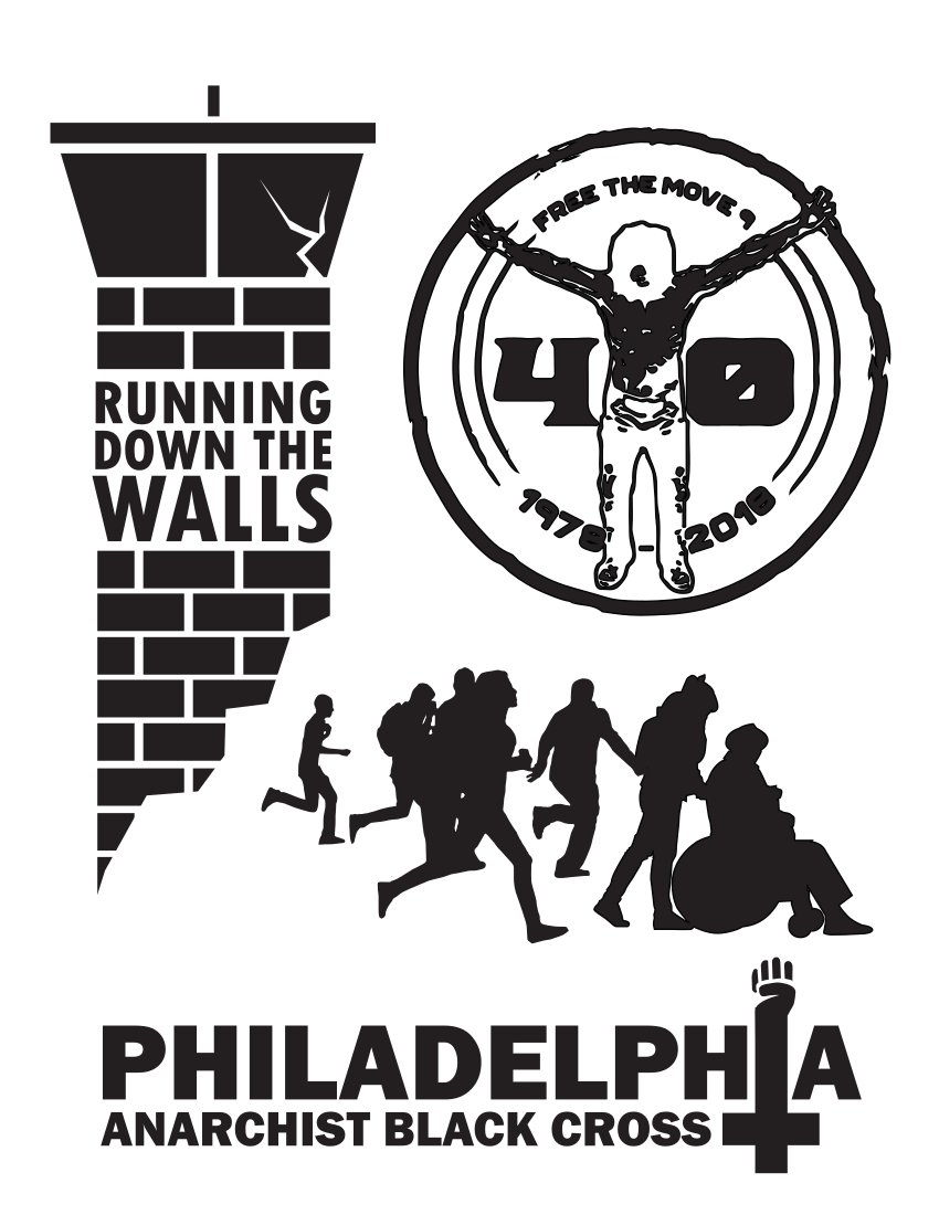 Running Down The Walls 2018 8x11