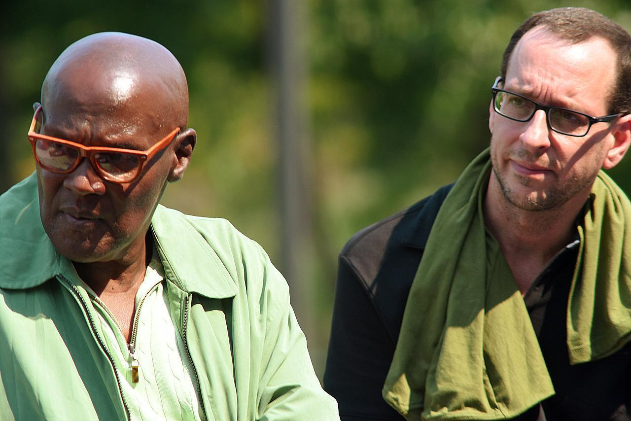 Ojore Lutalo and Tim Fasnacht