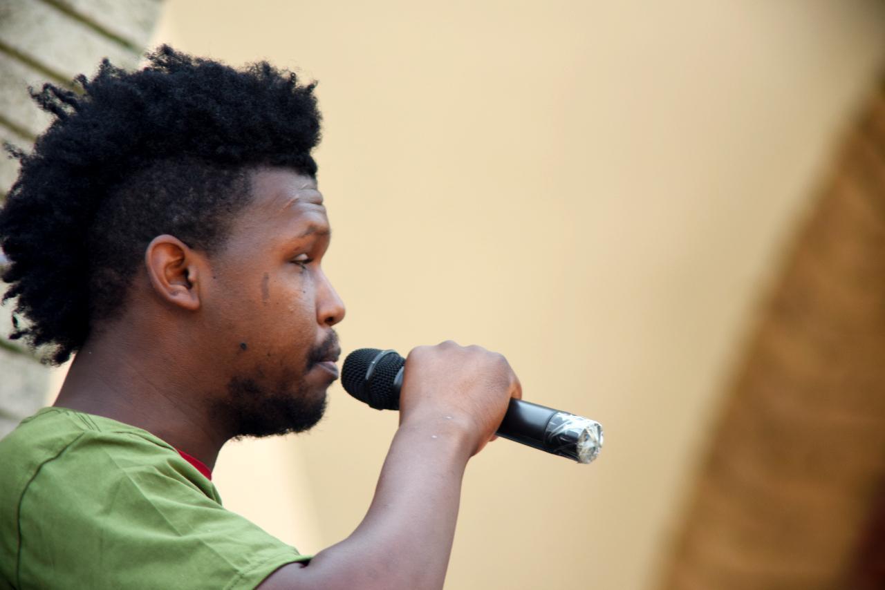 Jamal Jr. Speaking